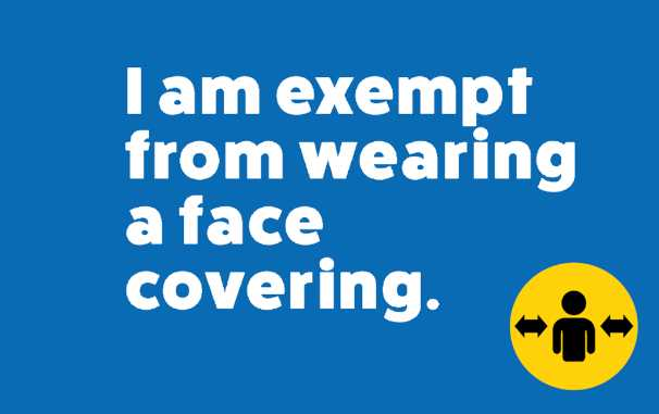Face Covering Exemption