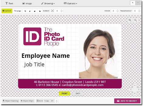 Simple Id Card Solutions  Design Your Own Photo Id Card  Id Badge