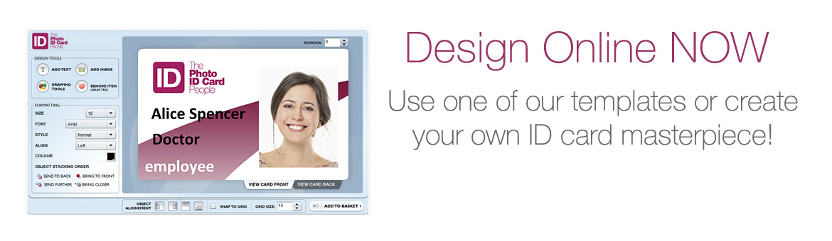 Design your ID card online now